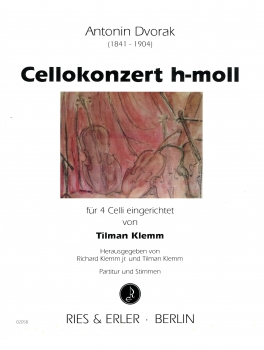 Cellokonzert h-Moll für 4 Celli