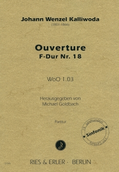 Ouverture F-Dur Nr. 18 WoO 1.03 (LM)