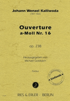 Ouverture a-Moll Nr. 16 op. 238
