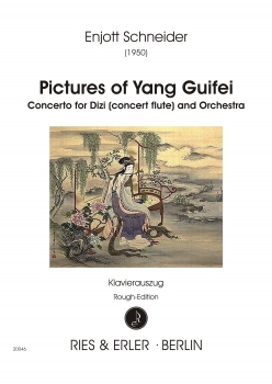 Pictures of Yang Guifei für Dizi und Orchester (KA)