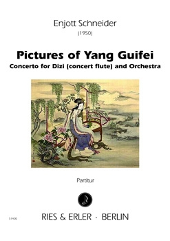 Pictures of Yang Guifei - Concerto for Dizi (concert flute) and Orchestra