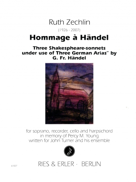 Hommage à Händel for soprano, recorder, cello and harpsichord